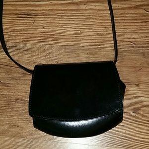De Vecchi Black Leather Purse
